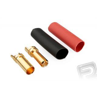 79411/100 G3.5mm pružinový konektor zlatý 100 párov