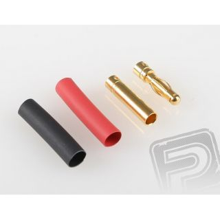 7946/10 G4.0mm STD konek.zlatý 10 párov (630)