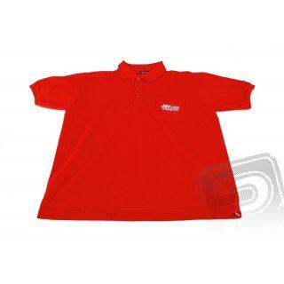 Polo tričko Hitec červenej M