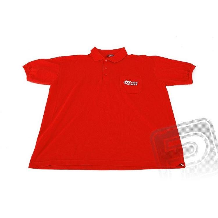 Polo tričko Hitec červené M