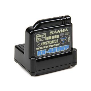 RX-481WP prijímač 2.4GHz FH3, FH4, 4-kanál, SSR (telemetrický / voduvzdorné)
