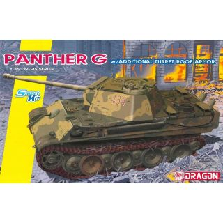 Model Kit tank 6897 - Panther Ausf.G Late Production w/Add-on Anti-Aircraft Armor (1:35)