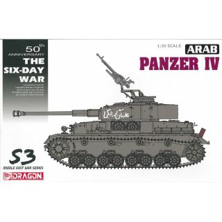 Model Kit tank 3593 - Arab Pazner IV - The Six Day War (1:35)
