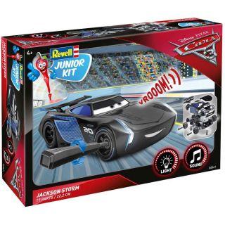 Junior Kit auto 00861 - Cars 3 - Jackson Hrom (světelné a zvukové efekty) (1:20)