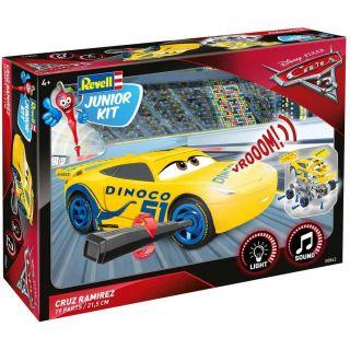 Junior Kit auto 00862 - Cars 3 - Cruz Ramirezová (světelné a zvukové efekty) (1:20)