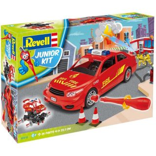 Junior Kit auto 00810 - Fire Chief Car (1:20)