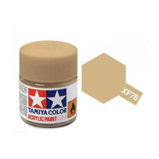 81778 XF-78 Flat Wooden Deck Tan Tamiya Color Acrylic Paint 10ml