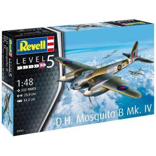Plastic ModelKit letadlo 03923 - D.H. Mosquito Bomber (1:48)