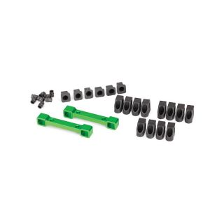 4-Tec 2.0: Hliníkové držáky ramen závěsu kol zelené