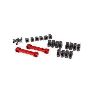4-Tec 2.0: Hliníkové držáky ramen závěsu kol červené