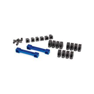 4-Tec 2.0: Hliníkové držáky ramen závěsu kol modré