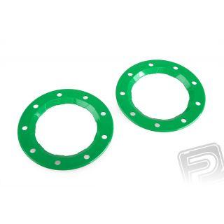 Pojistný kroužek, zelený, 2ks. pro disky PD8321, ,6225