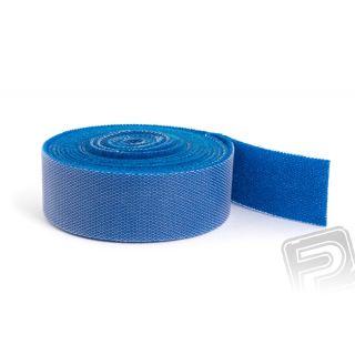 Suchý zip oboustranný 2M x 20mm - modrý