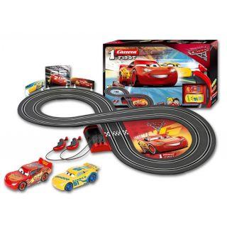 Autodráha Carrera FIRST - 63010 Disney Cars 3