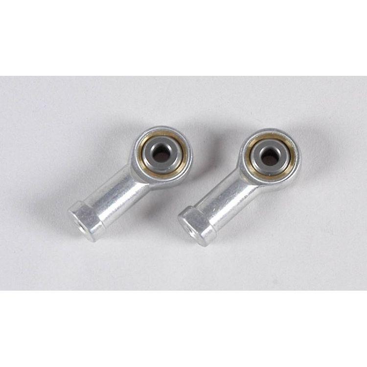 Alu/ocelový kloubek o průměru 4mm/M4, 2ks.