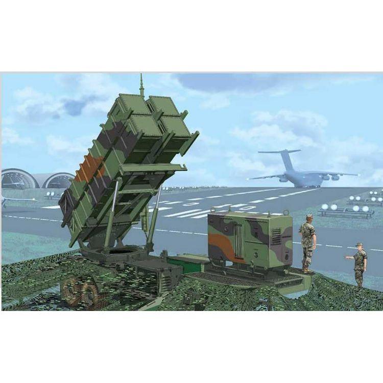 Model Kit military 3604 - MIM-104C PATRIOT (PAC-2) SURFACE-TO-AIR MISSILE (SAM) SYSTEM (Smart Kit) (1:35)