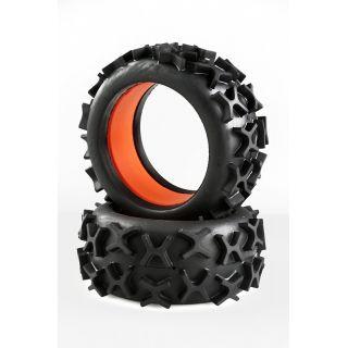 GRP 1:6 Grip gumy s vložkami, směs X/super soft, 2ks