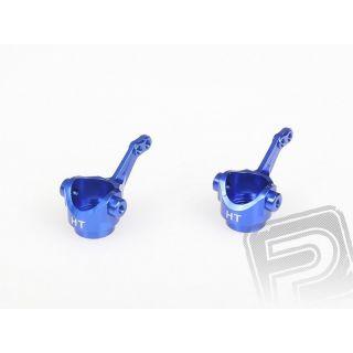 Těhlice predného kolesa - ALU (modré), 2ks. 102011