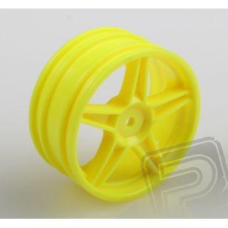 Disky žlutý – buggy, přední, 2ks.