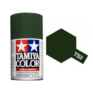 Tamiya Color TS 2 Dark Green Spray 100ml