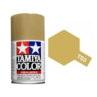Tamiya Color TS 3 Dark Yellow Spray 100ml