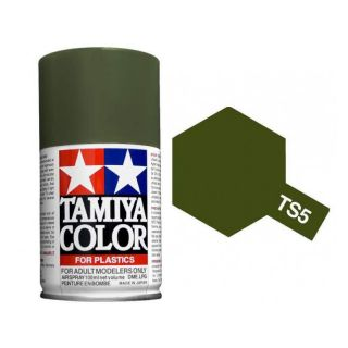 Tamiya Color TS 5 Flat Olive Drab 1 Spray 100ml