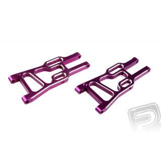 Přední spodní ramena, ALU, 2ks. (fialové)