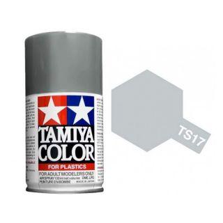 Tamiya Color TS 17 Aluminum Silver Gloss Spray 100ml