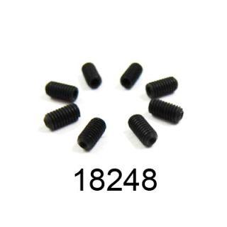 3x6mm imbusový červík, 8ks.