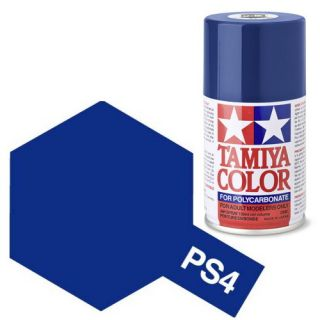 Tamiya Color PS-4 Blue Polycarbonate Spray 100ml