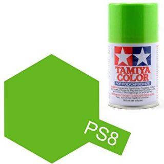 Tamiya Color PS-8 Light Green Polycarbonate Spray 100ml