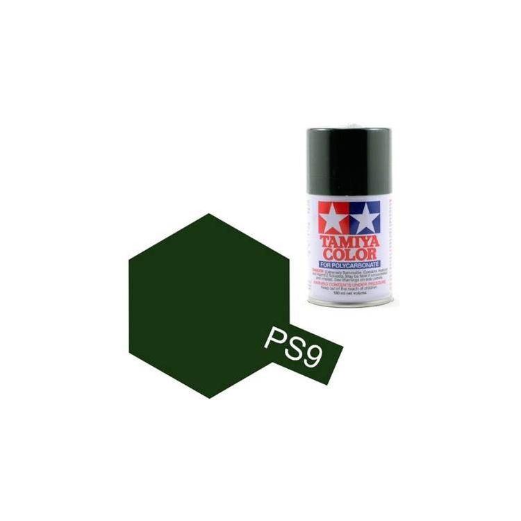 Tamiya Color PS-9 Green Polycarbonate Spray 100ml