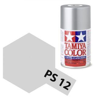 Tamiya Color PS-12 Silver Polycarbonate Spray 100ml