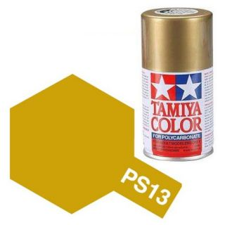 Tamiya Color PS-13 Gold Polycarbonate Spray 100ml