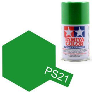Tamiya Color PS-21 Park Green Polycarbonate Spray 100ml