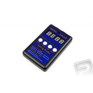 Programovacie karta pre 80A CAR ESC - HIMOTO