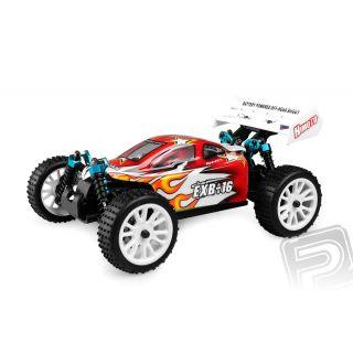 Himoto Buggy 1/16 RTR 2,4GHz - červená