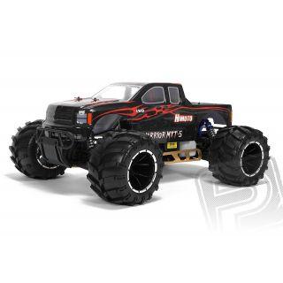 HIMOTO 1: 5 MEGAP Monster truck 2,4GHz 26ccm čierne