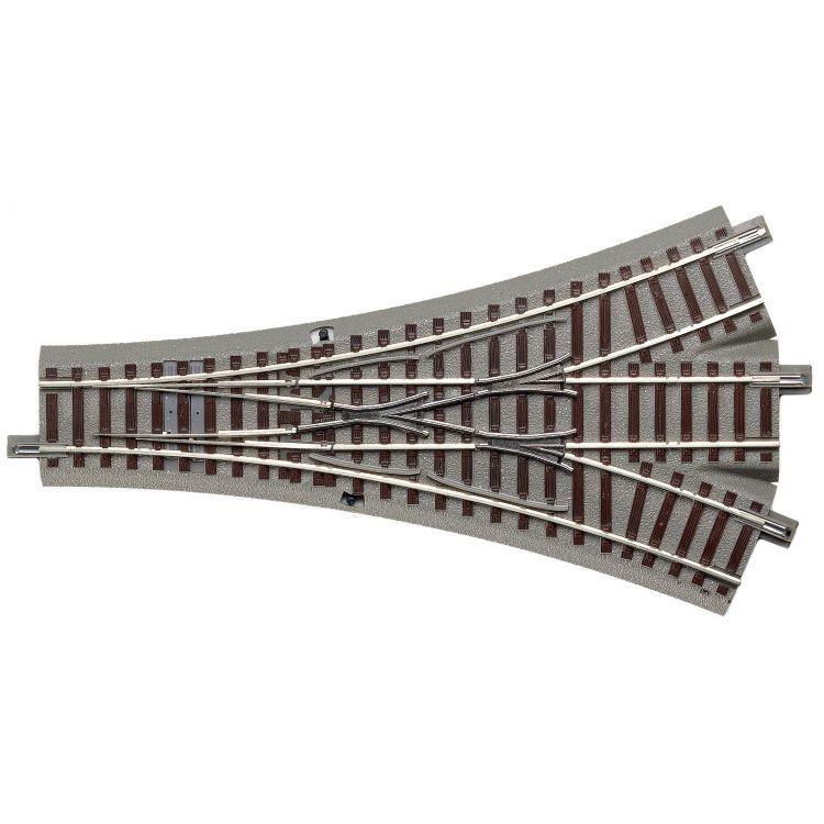 Trojcestná výhybka DWW 22,5°, symetrická, geoLine