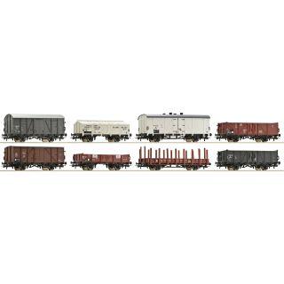 ROCO Set ôsmich nákladných vozňov, NS