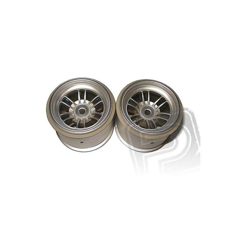 Disk kola, FT01 (stříbrné/přední/2ks)