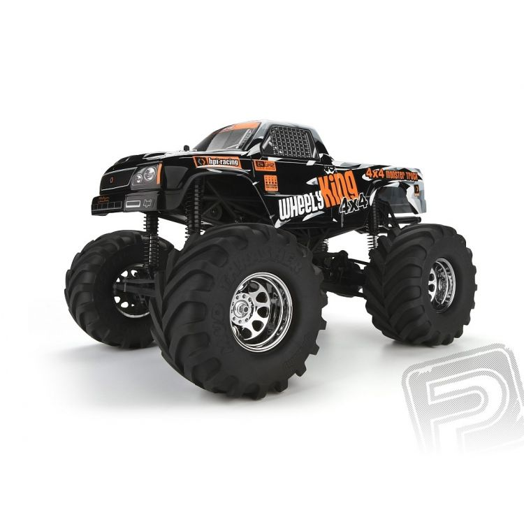 Wheely King 1/12 Monster Truck RTR s 2,4GHz soupravou