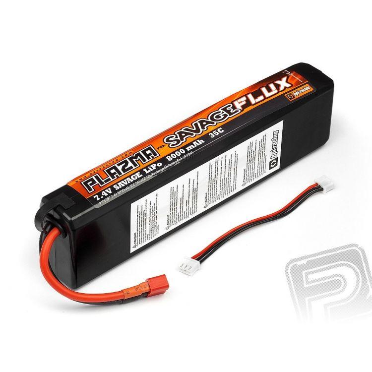 HPI - Plazma 7,4V 8000mAh 35C LiPo Hardcase