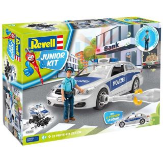 Junior Kit auto 00820 - Police Car with figure (1:20)
