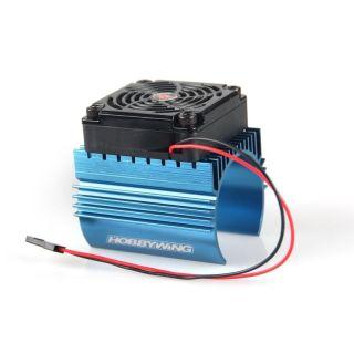 Chladič s ventilátorom pre motory s priemerom 44 mm