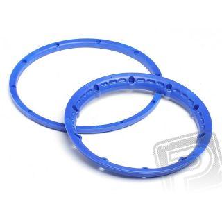 Poistný krúžok kolesá, modrý 2ks