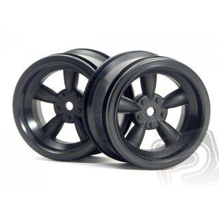 VINTAGE 5 lúčové disky 31mm, čierne (6mm OFFSET)