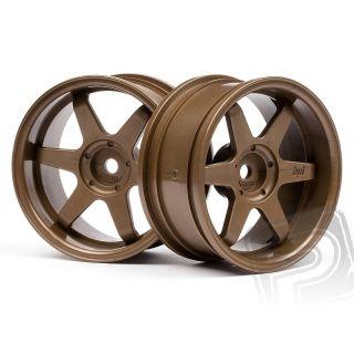 TE37 disky 26mm bronzovej (6mm OFFSET)