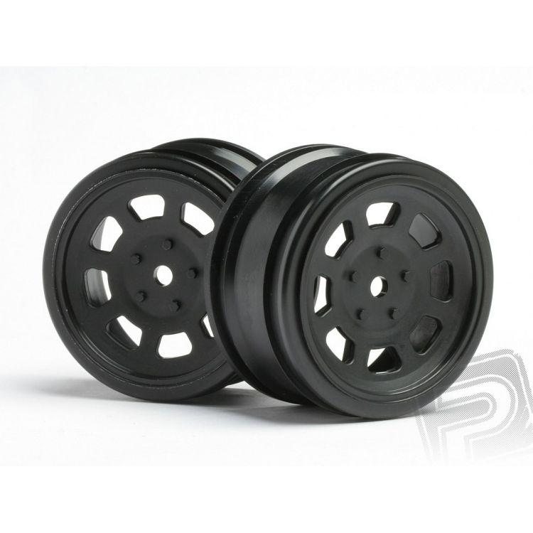 VINTAGE STOCK disky 26mm černé (0mm OFFSET)