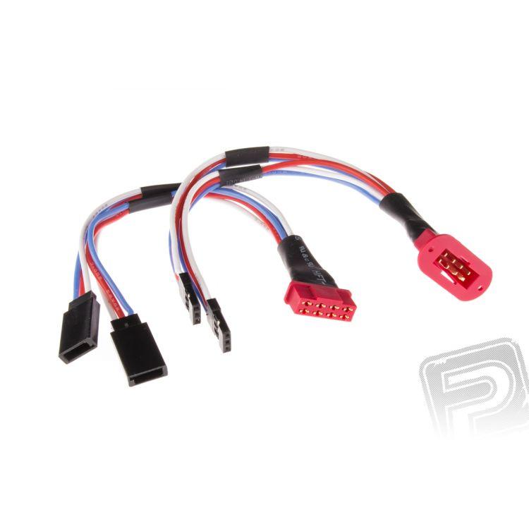 Prodlužovací kabel MPX pro 2 serva